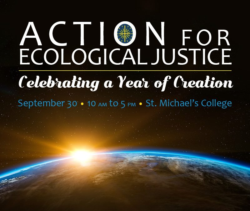 Action for Ecological Justice conference