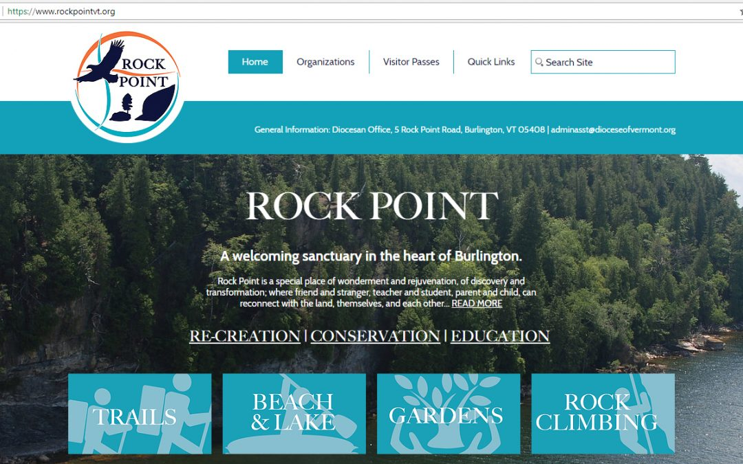 Rock Point Launches New Website
