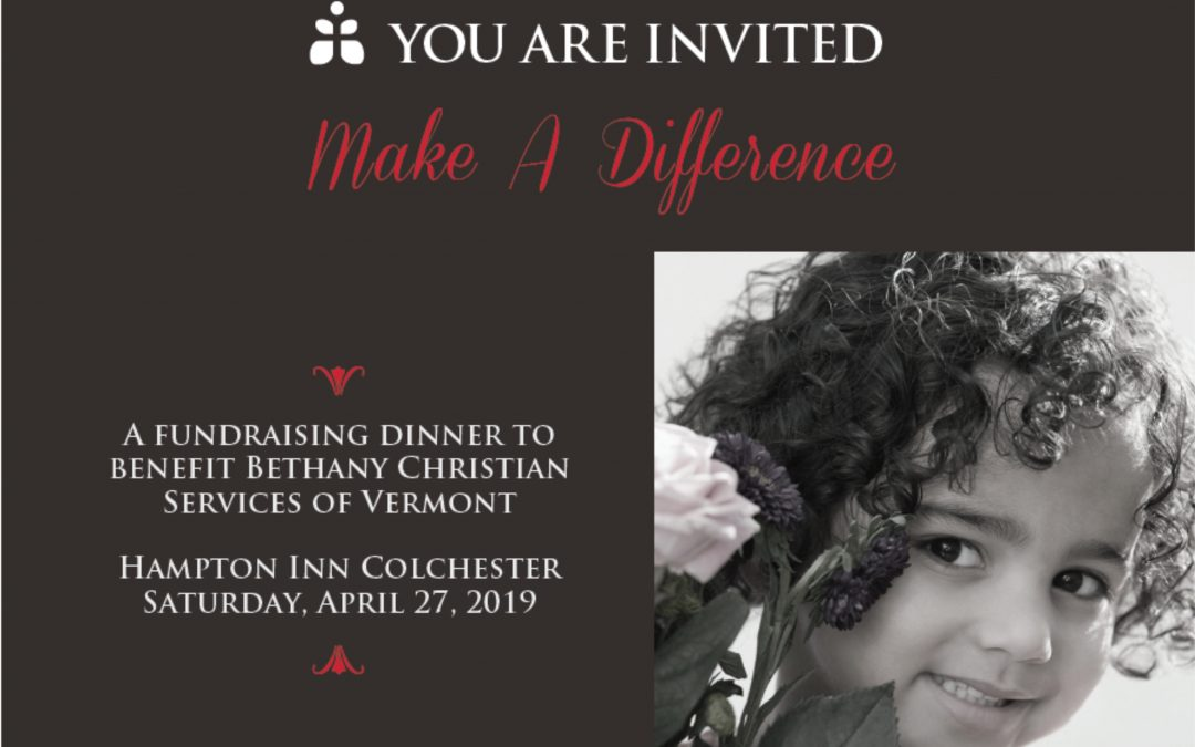 Make A Difference – Bethany Christian Services Fundraiser