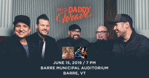 Big Daddy Weave in Concert @ Barre City Auditorium | Barre | Vermont | United States