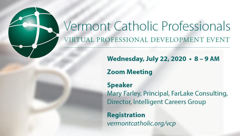VT Catholic Professionals – Virtual Professional Development Event