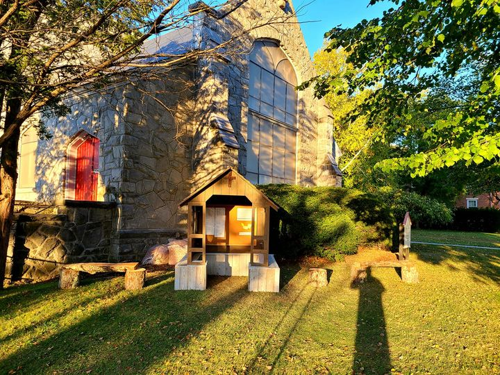A Place for Pause and Prayer: St. Peter's Bennington repurposes a stable
