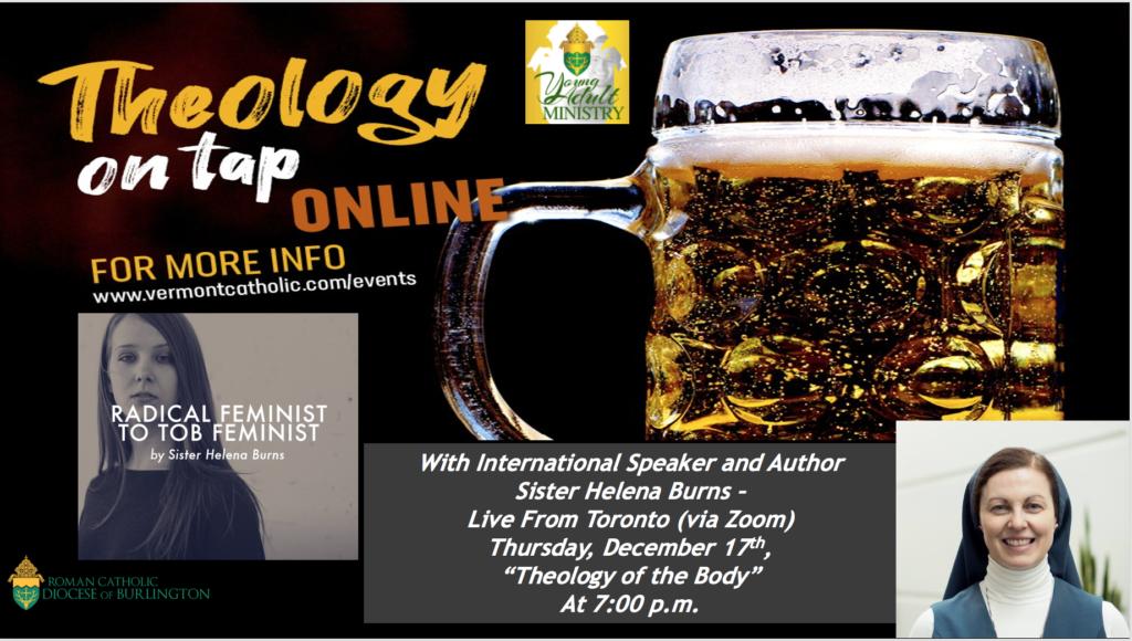 December Theology On Tap